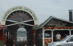 Fernando at El Muelle Uno