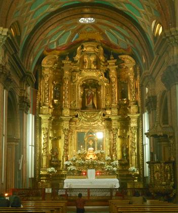 Quito Eglisia  de el Sagrario 1