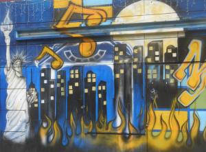 Plaza Foche street art