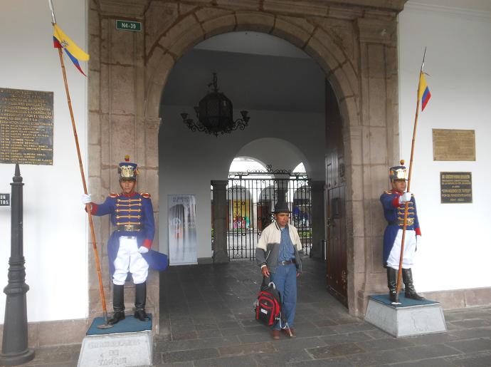 Quito tourist